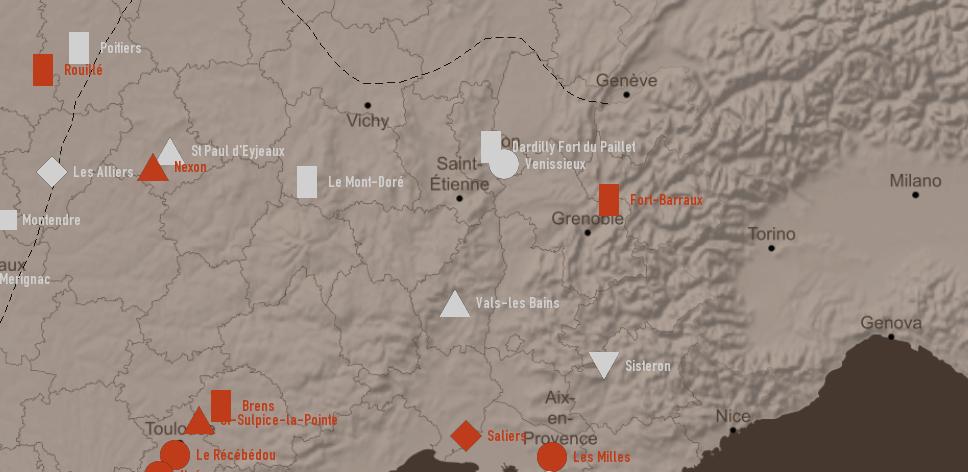 carte interactive personnalisée, interactive map