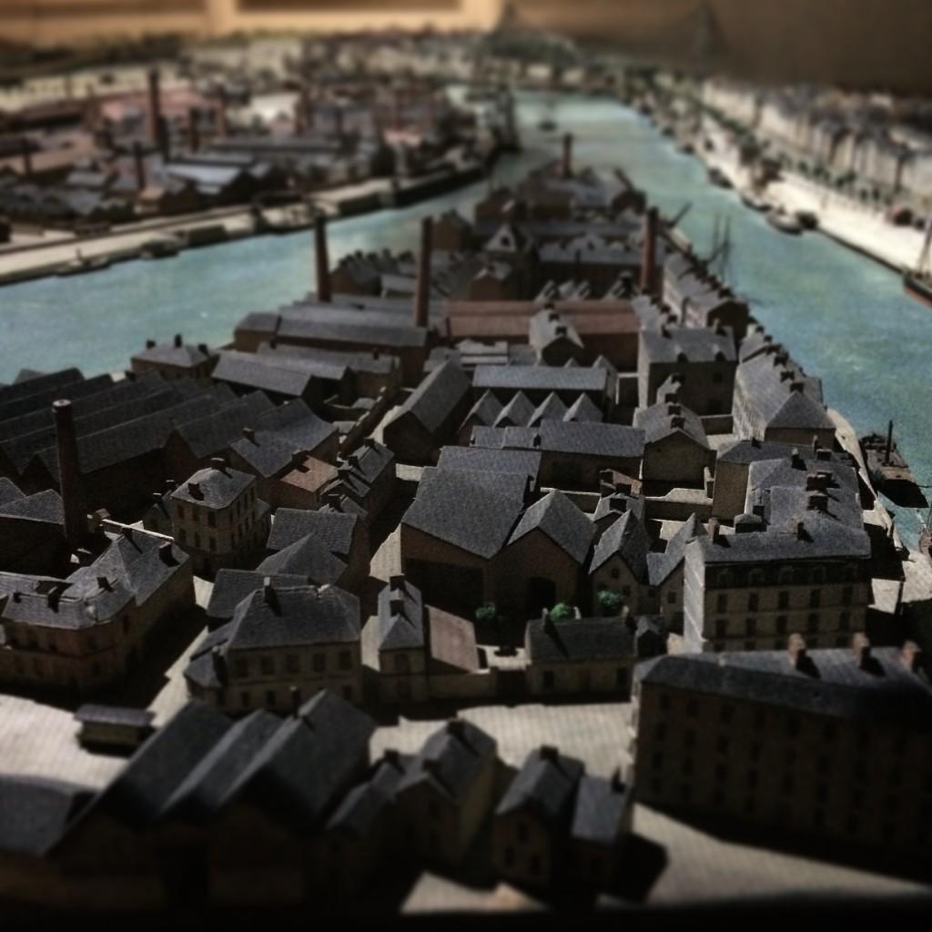 Maquette interactive de Nantes1900, Château des Ducs de Bretagne, Nantes