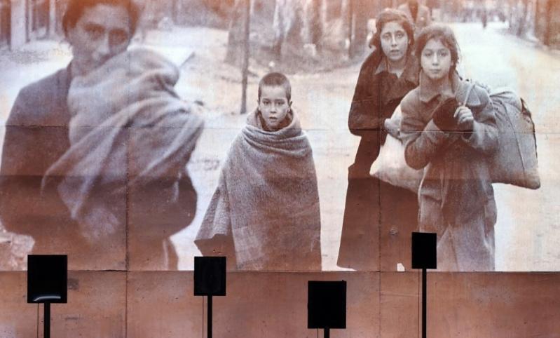 Foret des Temoins, Memorial du camp de RivesAltes (credits : AFP, ERIC CABANIS)