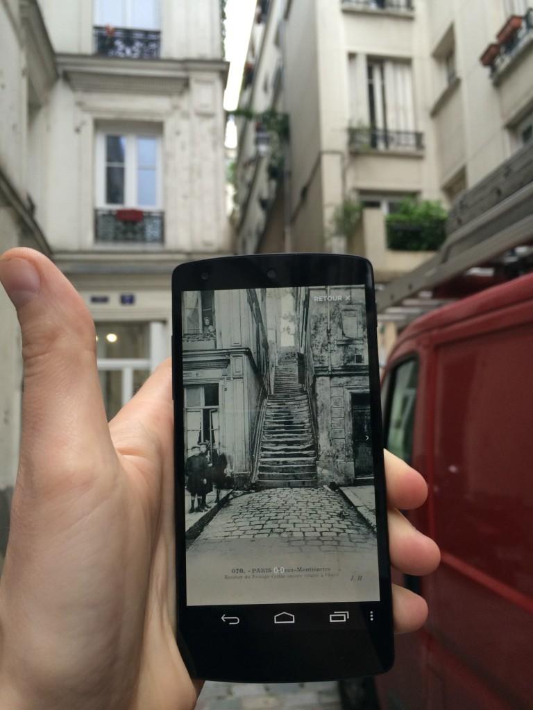 ici-avant : app realité augmentée