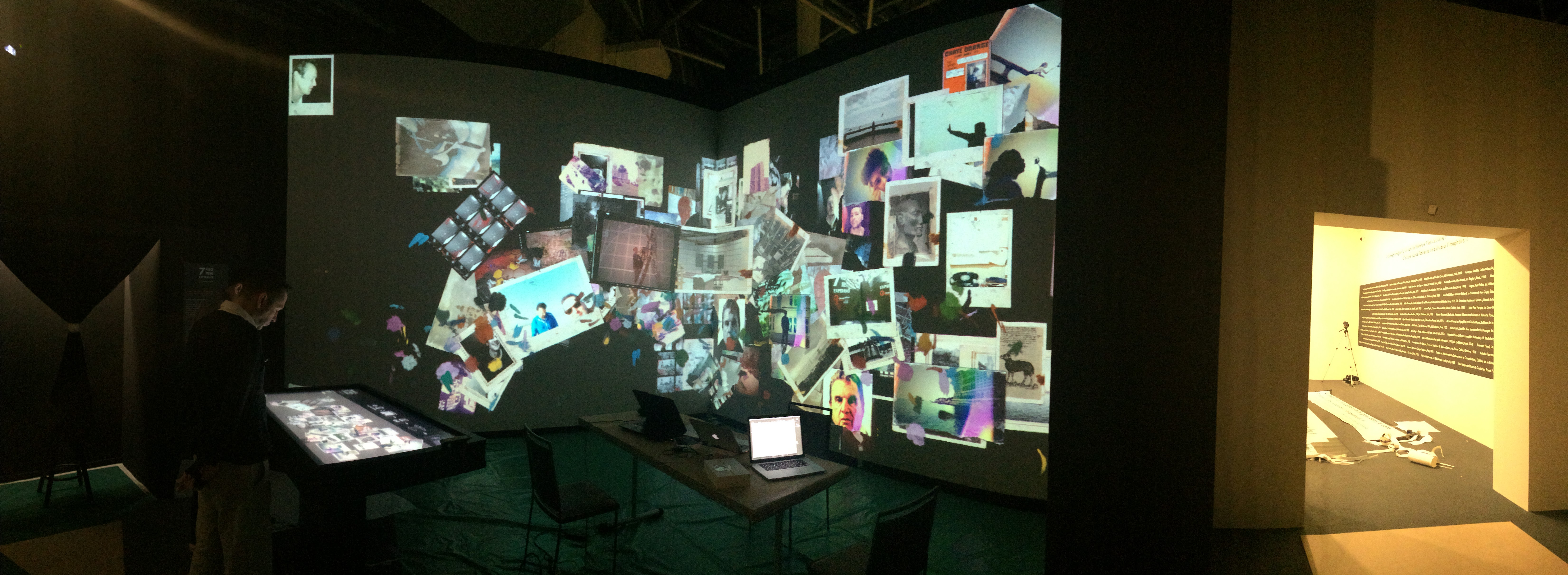 Interactive giant photo booth experience
