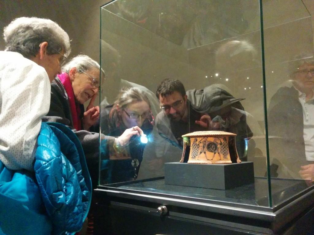 Le Vase qui parle, vase original, Musée Saint Raymond, Toulouse