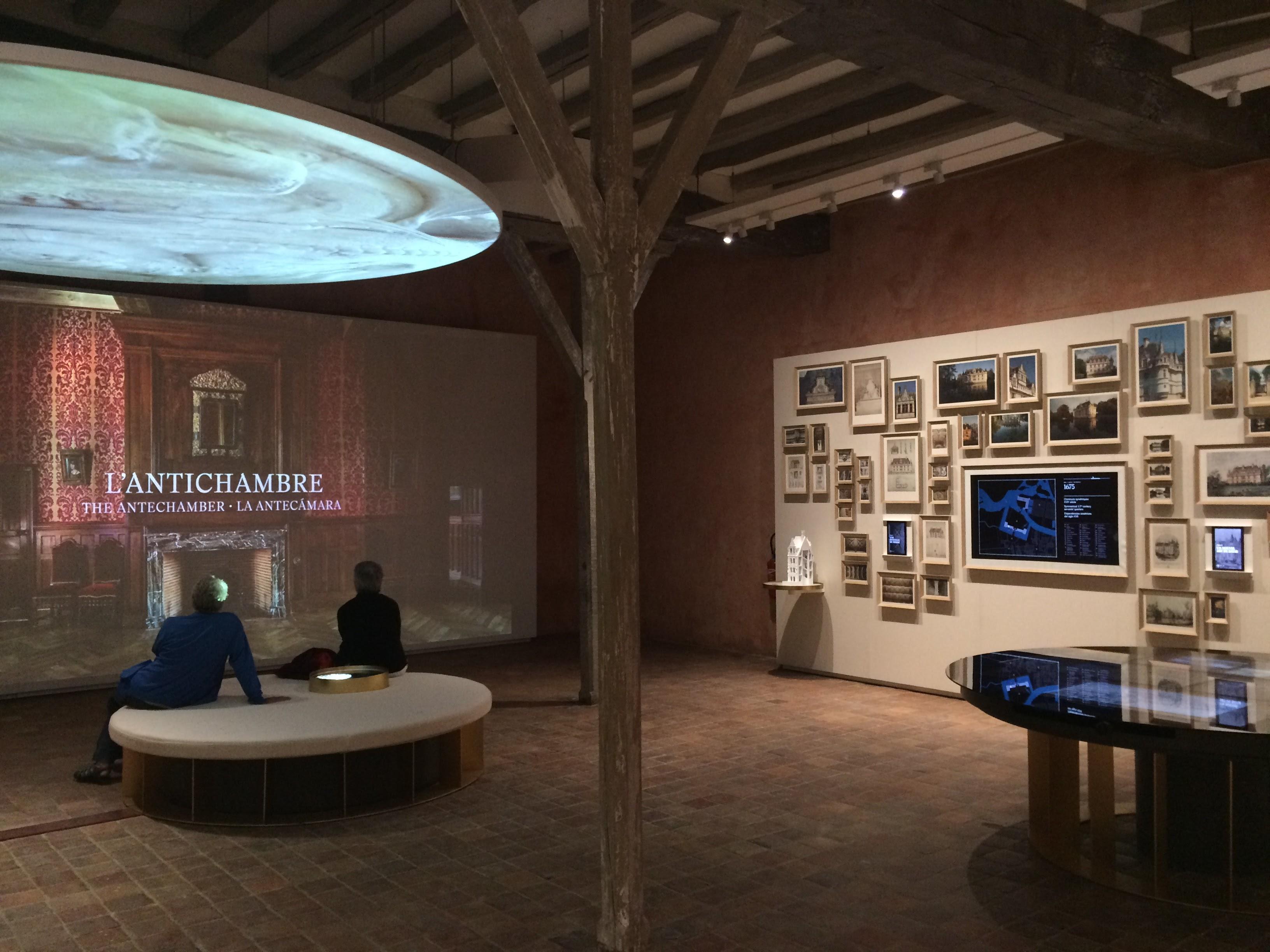 Scenographie multimedia, Chateau d'Azay le Rideau